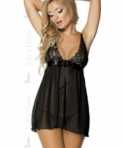 Poze produs Babydoll Delicacy LD107 + CD Sensual Chill Lenjerie sexy LETS DUCK